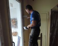 Vymurovanie okolo dverí