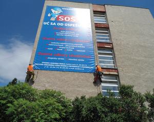 Instalacia reklamneho bannera