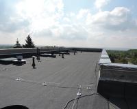 opravená strecha